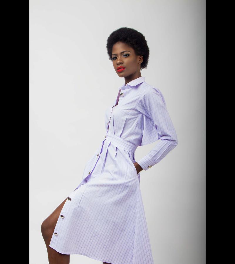 61dc65b7781 Unusual Shirt Dress – Laide Fash